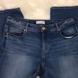 Ann Taylor Loft Curvy Kick Crop Jeans Size 6 EUC